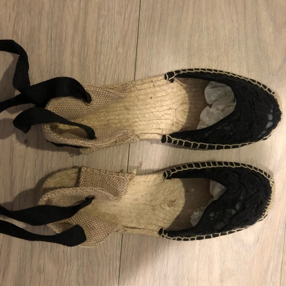 Soludos Shoes - NWOT never worn Soludos lace up espadrilles